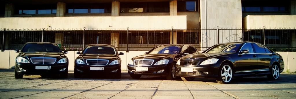 Аренда представительского авто Mercedes S500 w221 в Казани