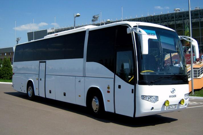 Туристический автобус HIGER 47-49 МЕСТ